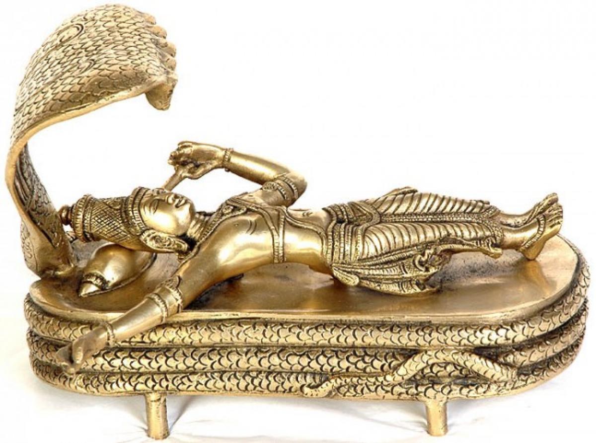 Metropolitan Museum New York showcasing Lord Vishnu