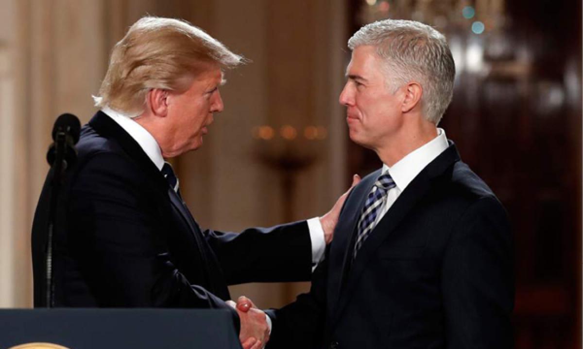 Donald Trump nominates Judge Neil Gorsuch as Supreme Court Justice