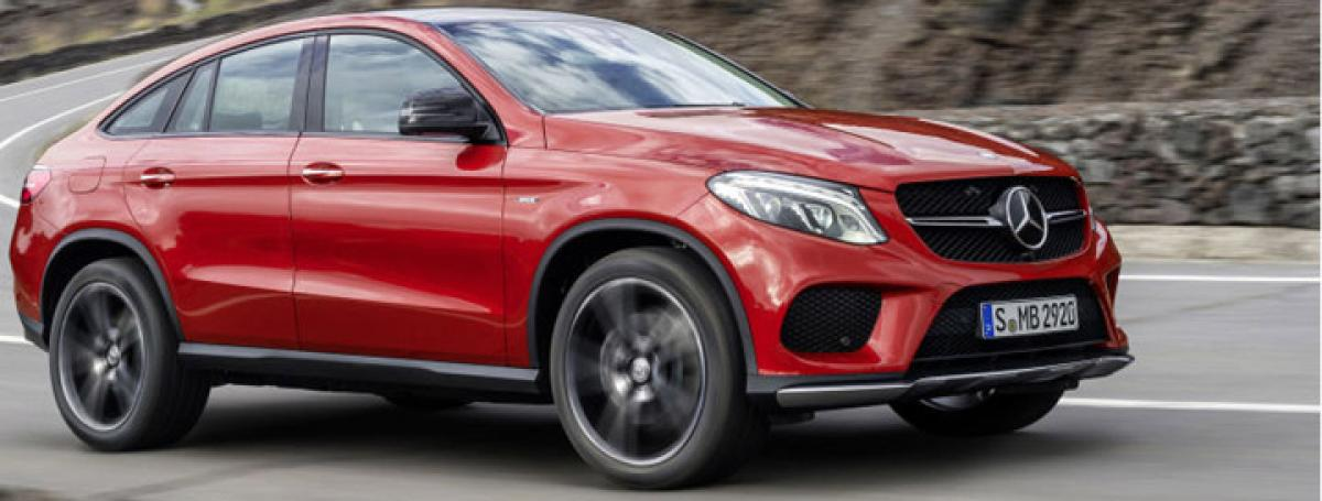 Mercedes to launch the GLE 450 AMG Coupe on Jan 12