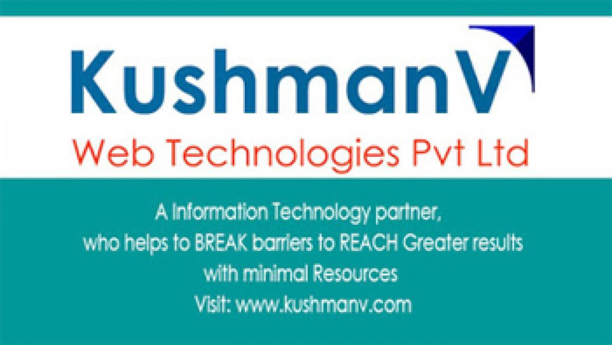 KushmanvWeb unveilsportal for Hyderabad