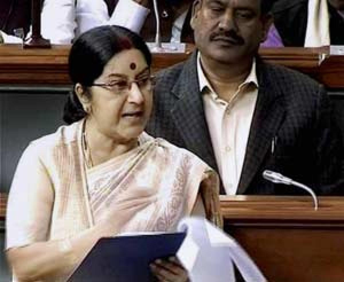 Talks with Pak will begin new chapter of peace: Sushma