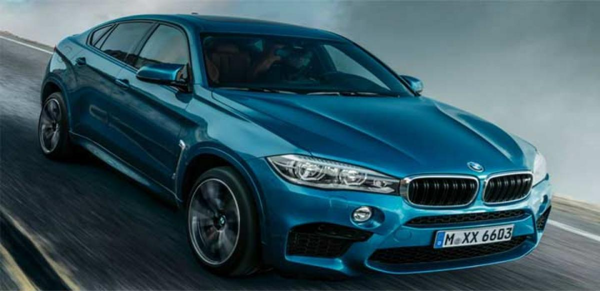 BMW X5M and X6M coming to India soon