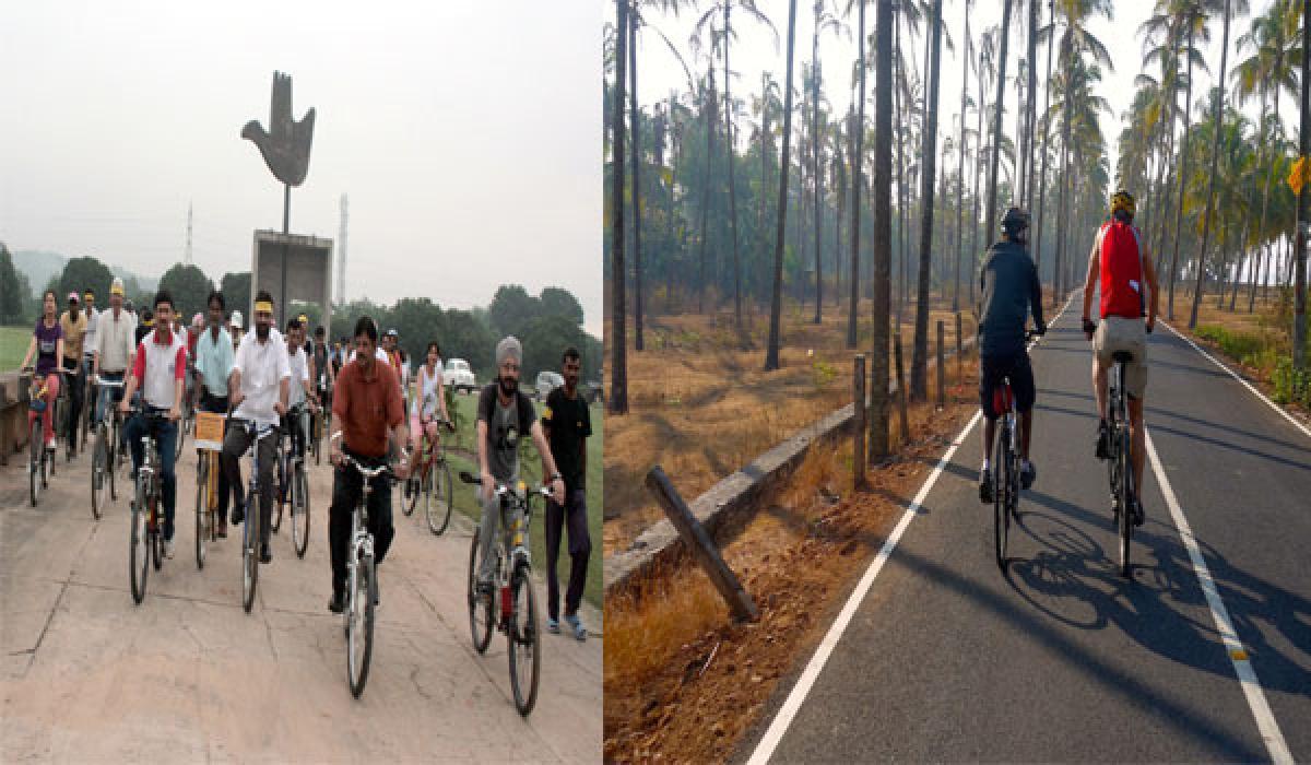 Cycling corridors, an ideal transportation option