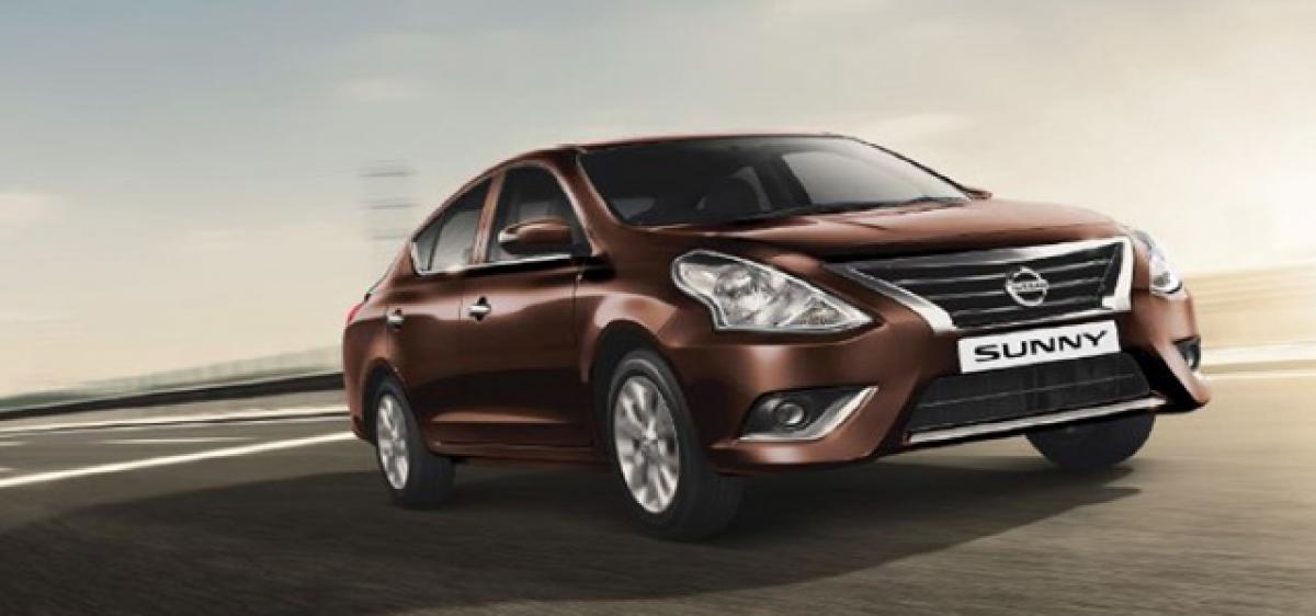 2017 Nissan Sunny launched