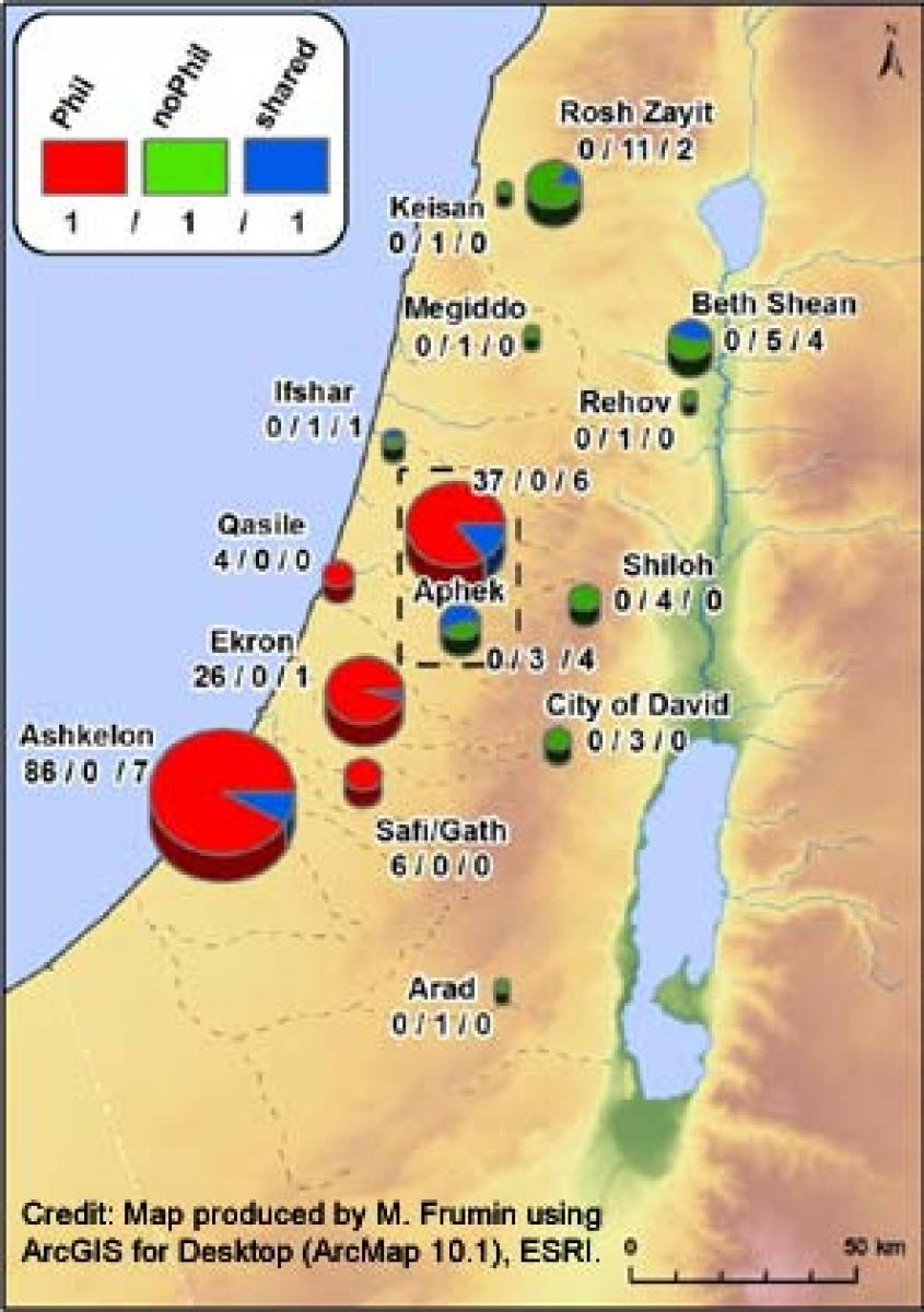 Philistines brought opium to Israel during Iron Age