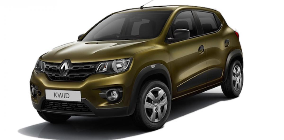 Renault exports upcoming Kwid hatchback to France for testing
