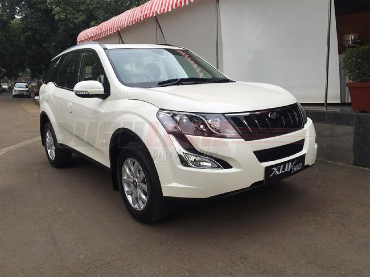 Mahindra downsizes XUV500 engine for regions with NGT diesel ban