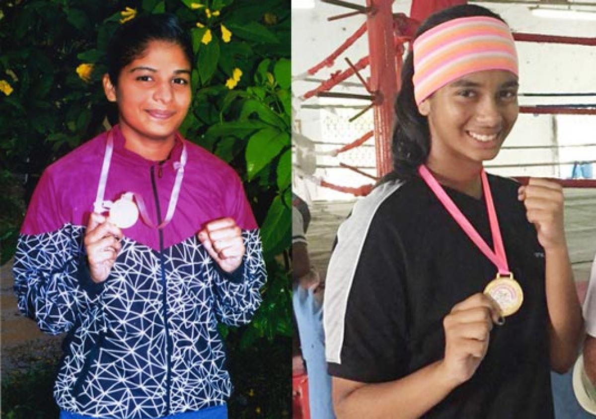 Afreen, Nagma win gold medals