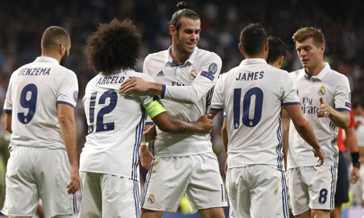 Real Madrid beats Legia Warsaw to 5-1 in Champions League
