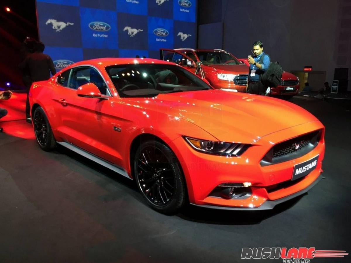 Indian version of Ford Mustang 5.0L V8 has poor fuel quality?
