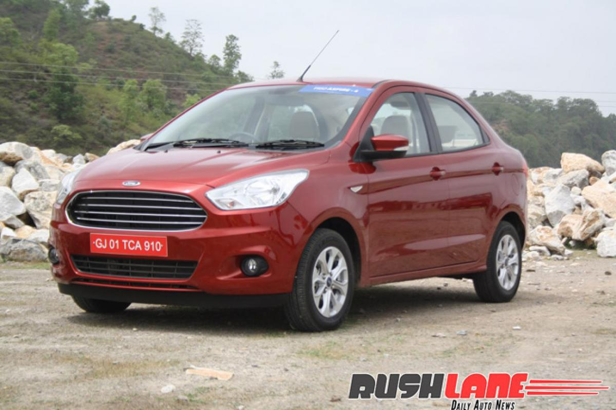 Ford cuts prices of Figo, Aspire by up to 91K