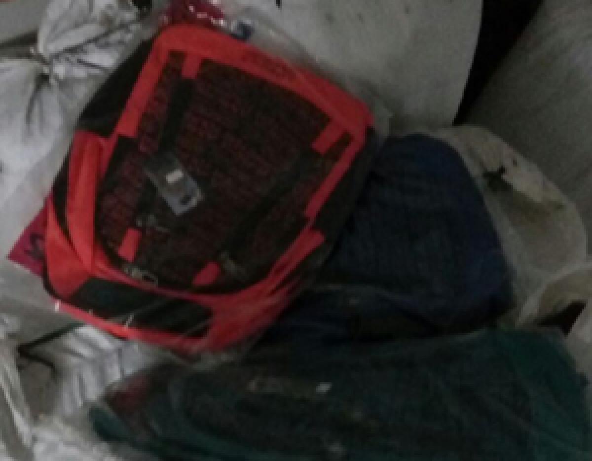 Fake Samsonite bags seized