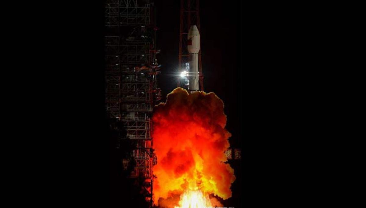China launches communication technology test satellite