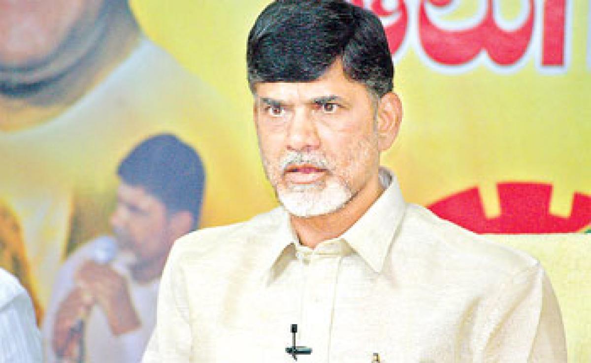 Chandrababu to skip Warangal campaign