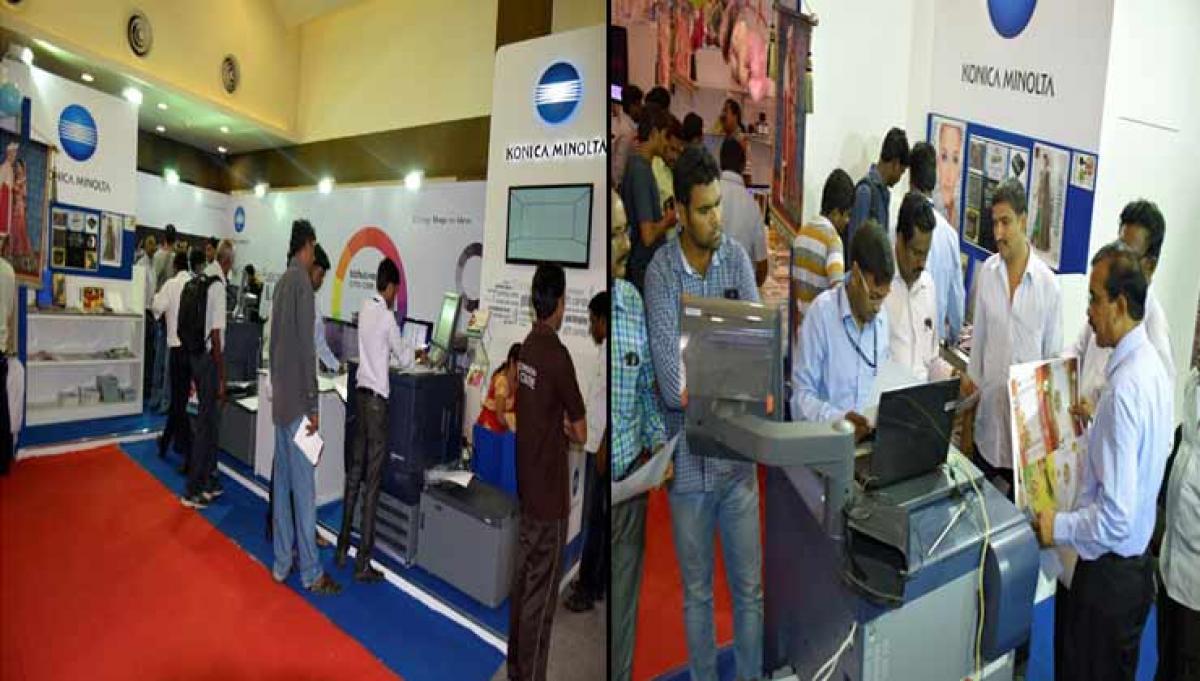 Konica Minolta Participates in Photo Today Vijayawada 2015