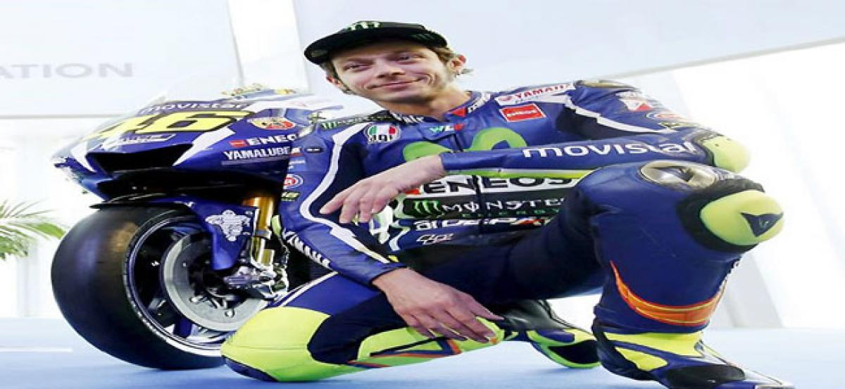 Valentino Rossi recovering after accident