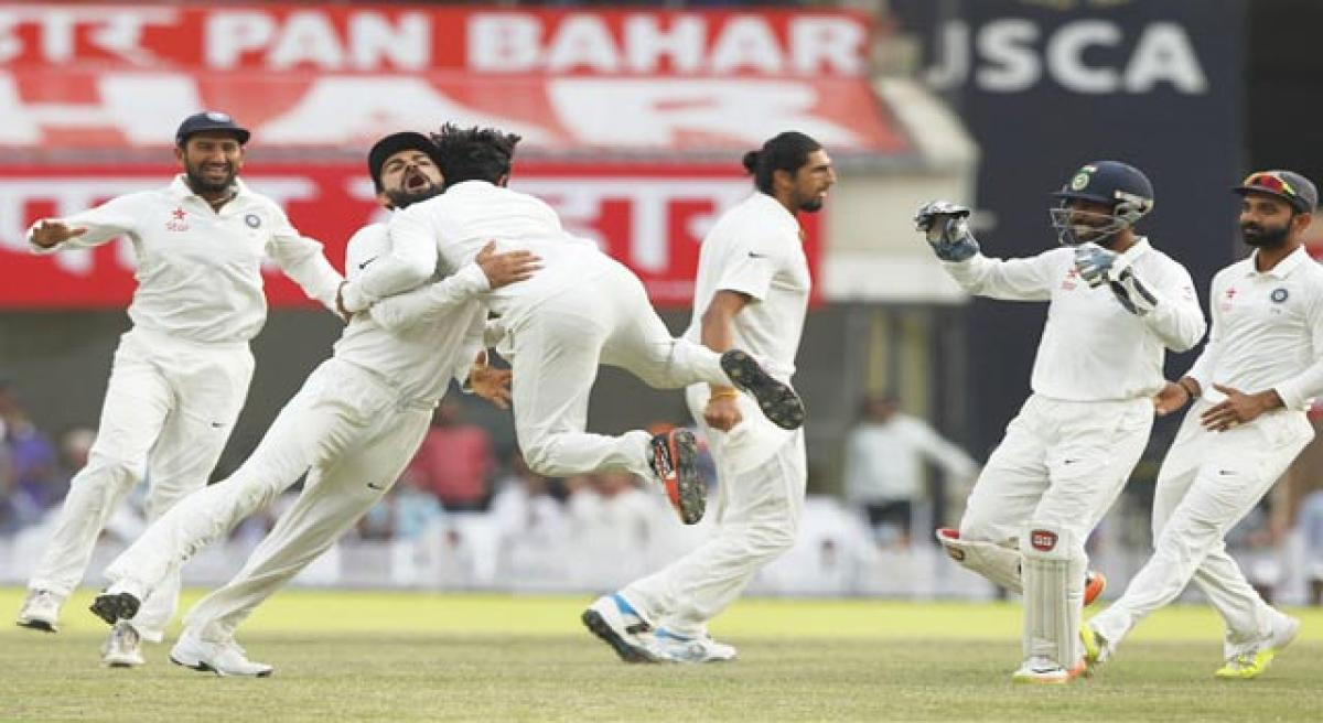 Pujara, Saha heroics raise win hopes