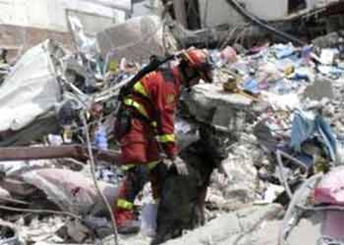 Strong tremors rock ecuador a week after massive earthquake