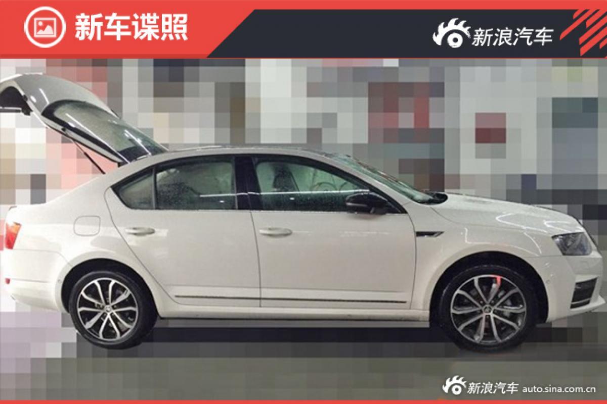 Spotted: 2017 Skoda Octavia facelift in China