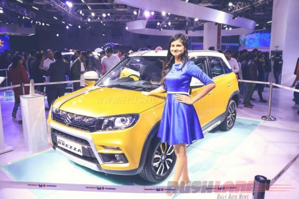 Maruti Vitara Brezza India launch date is 21st March