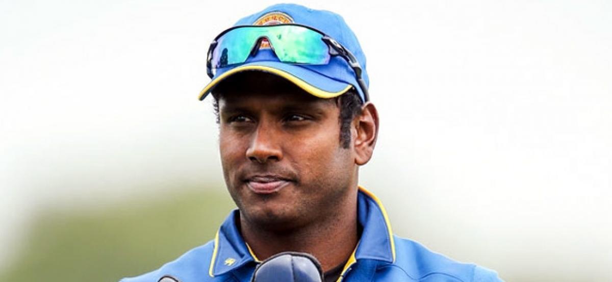 Angelo Mathews to lead Sri Lanka until 2019 World Cup