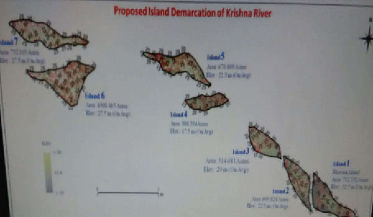 Soon, Krishna islands to allure tourists