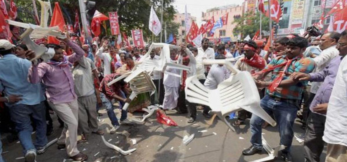Cops dance to Telangana govt tune