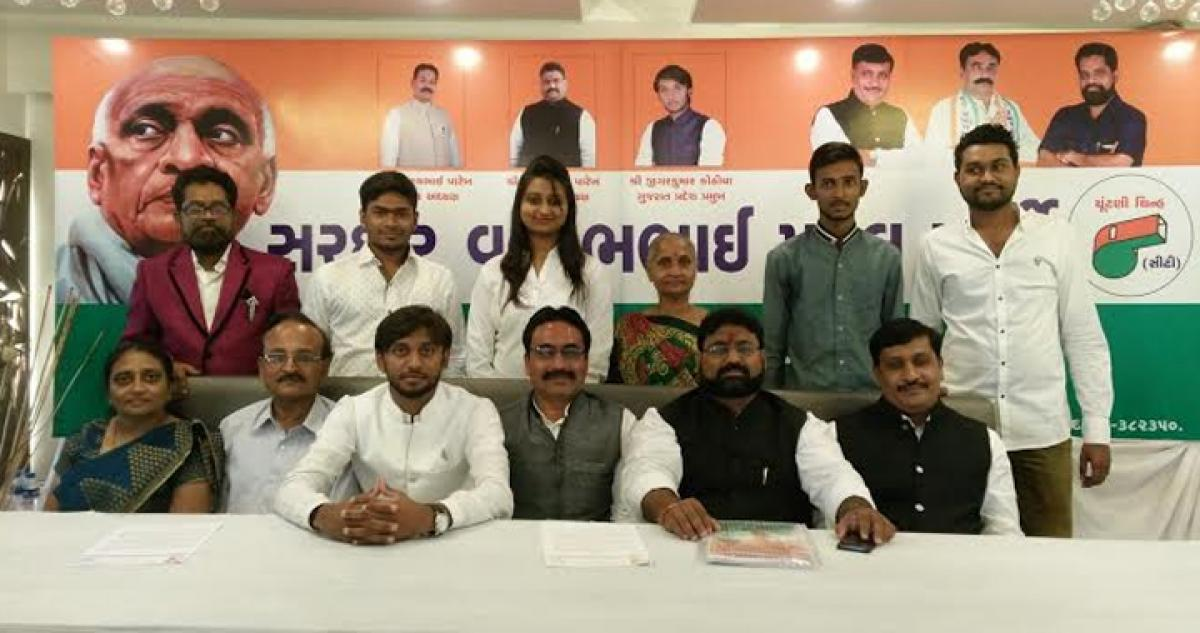 Sardar Vallabhbhai Patel Party to contest all seats in Gujarat local body elections in November, 2015