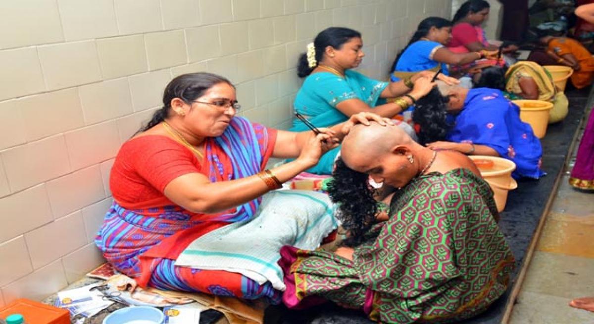 A decade on TTD female barbers make a mark