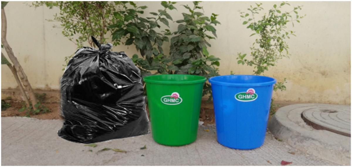 Waste Management-Twin cities with two bins