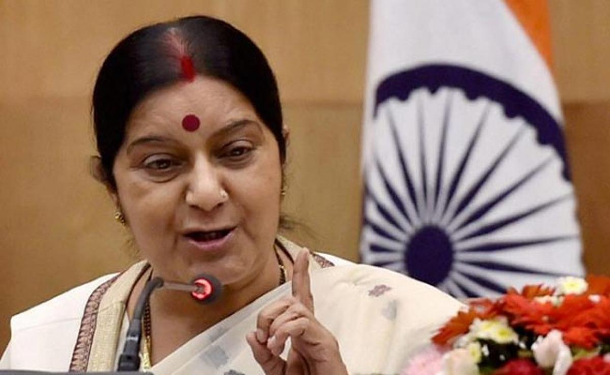 Sushma Swaraj Seeks Information From Envoy Over Indian Stranded In Malaysia