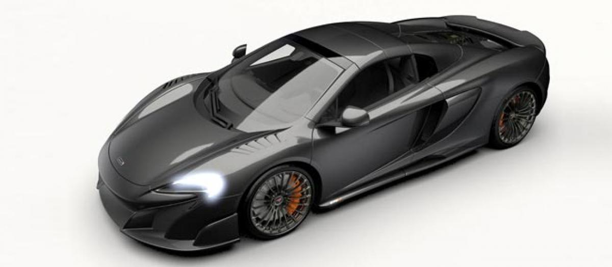 Sold out: McLarens all carbon convertible supercar