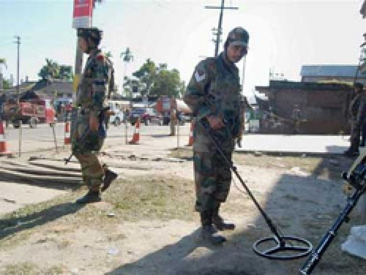 IED recovered near CRPF Headquarters in Imphal