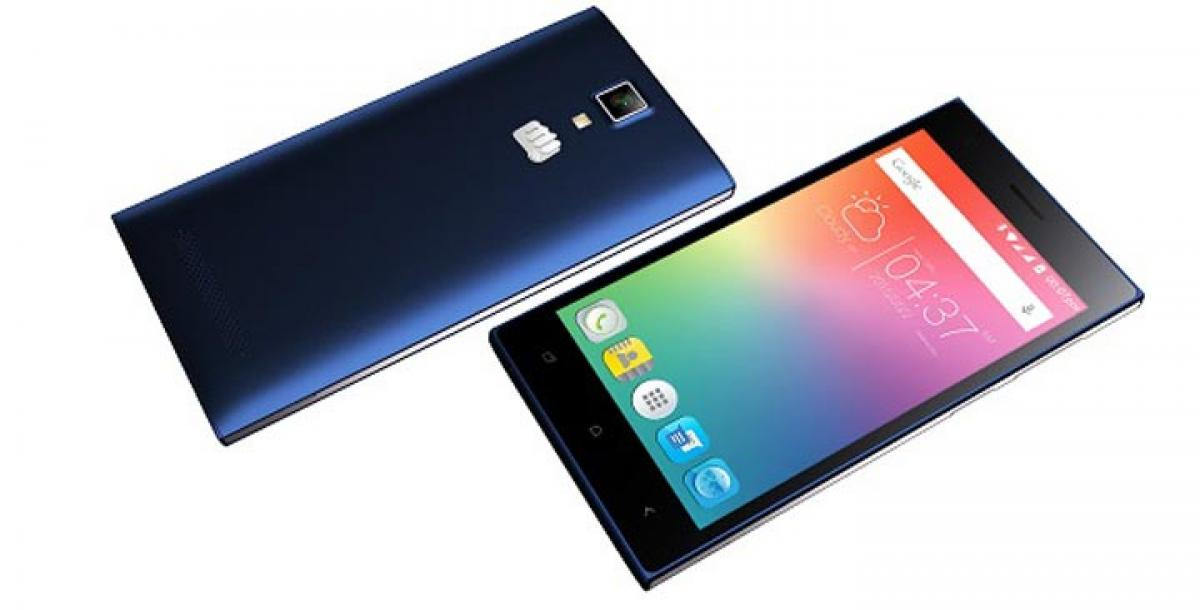 Micromax unveils 4G smartphone