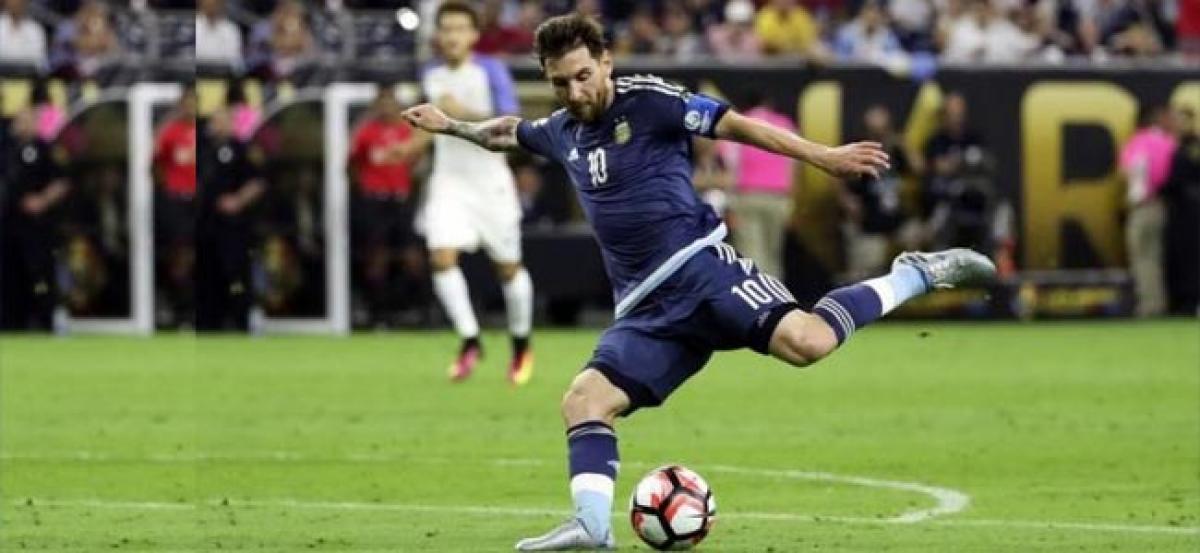 Argentina in Copa final courtesy goal machine Messi