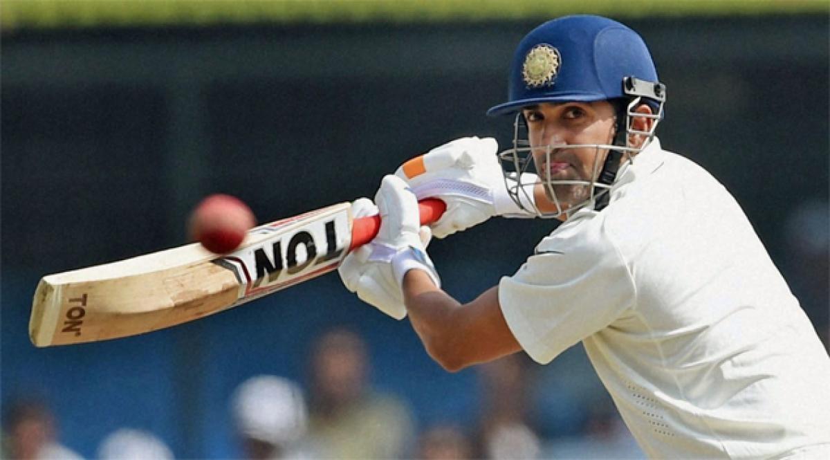Gambhir, Vijay make a steady start; post 63/0 in reply to Englands 537