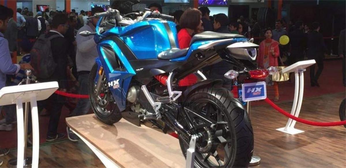 Hero HX250 features, price in India Auto Expo 2016