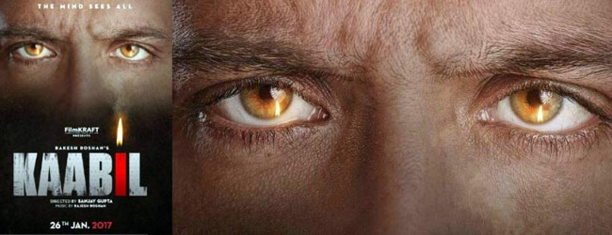 Check out Hrithik in Kaabil poster