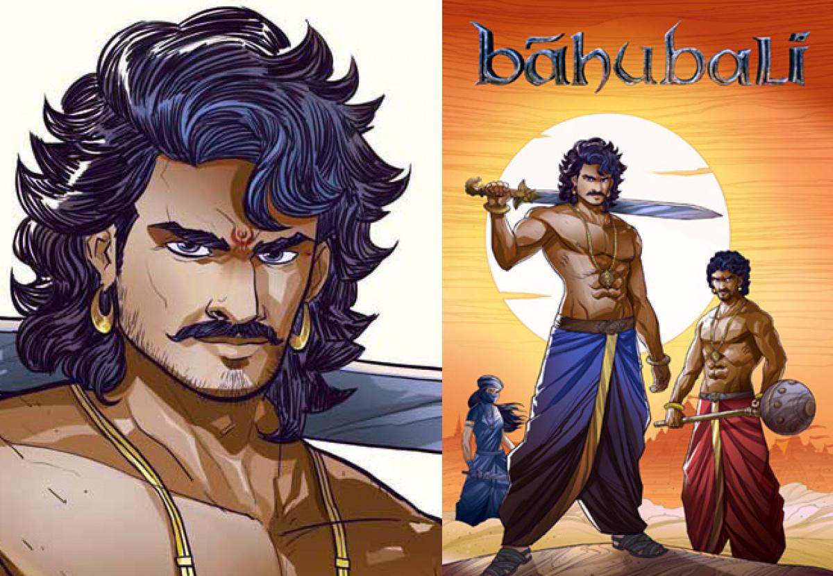 Baahubali To Launch Across Comics, Novels, Animation And Games In Partnership With Graphic India