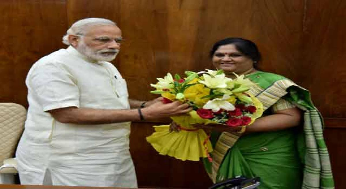 Araku MP meets PM, brings problems of tribals to his notice