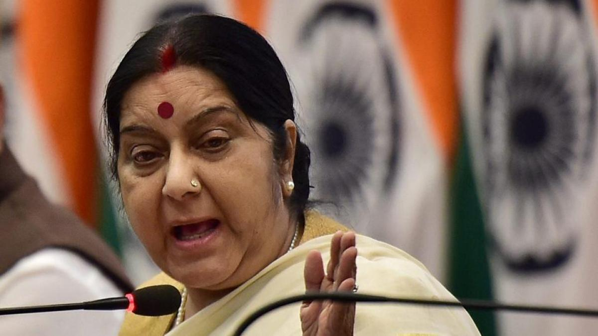 Telangana man shooting: Govt following case with US police, says Sushma Swaraj