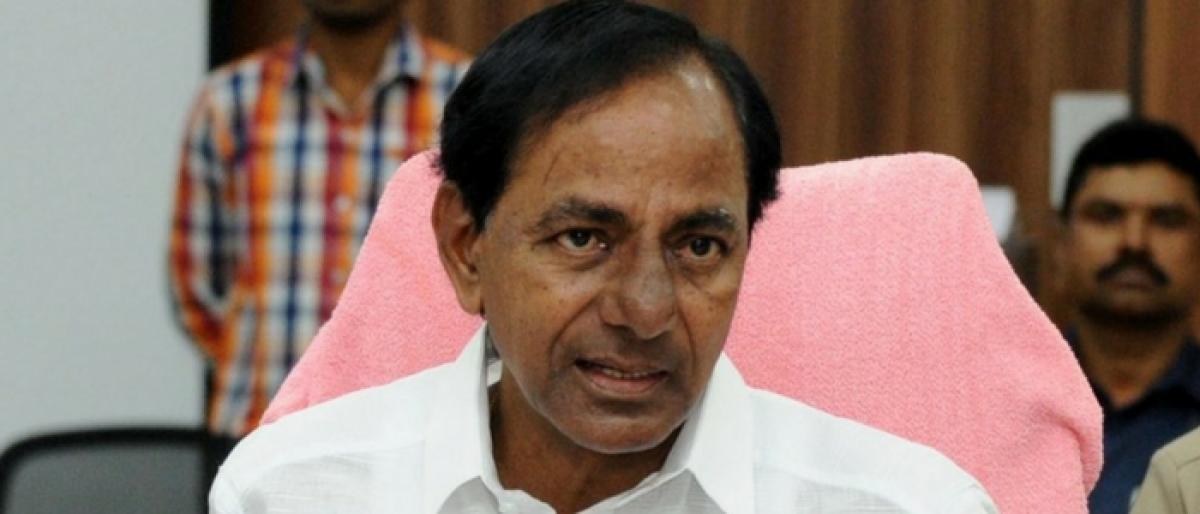 KCR rules out CBI probe