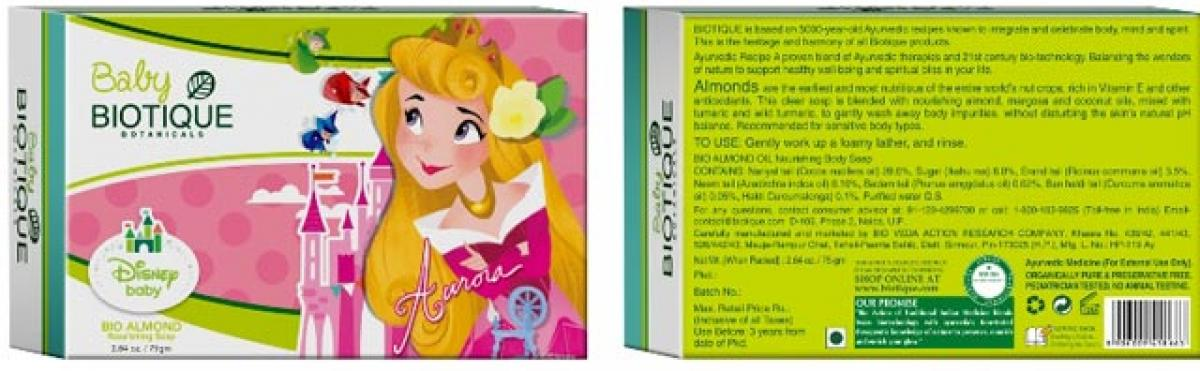 Biotique launches new baby care range inspired by disney characters