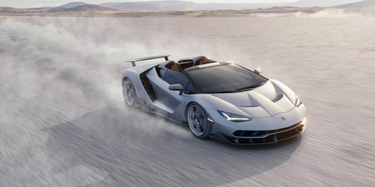 Lamborghini unveils $2 Million Centenario Roadster