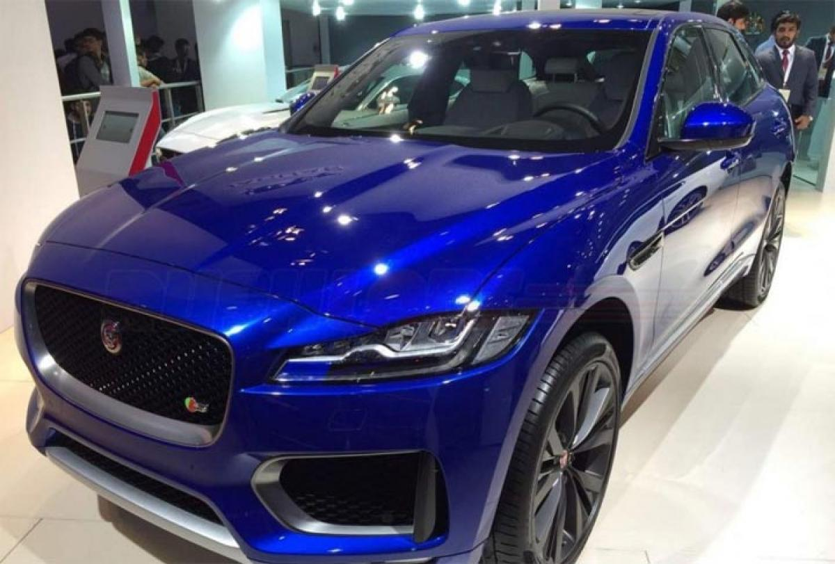 Whats hot at Auto Expo 2016? Jaguar F Pace features, price in UK, USA
