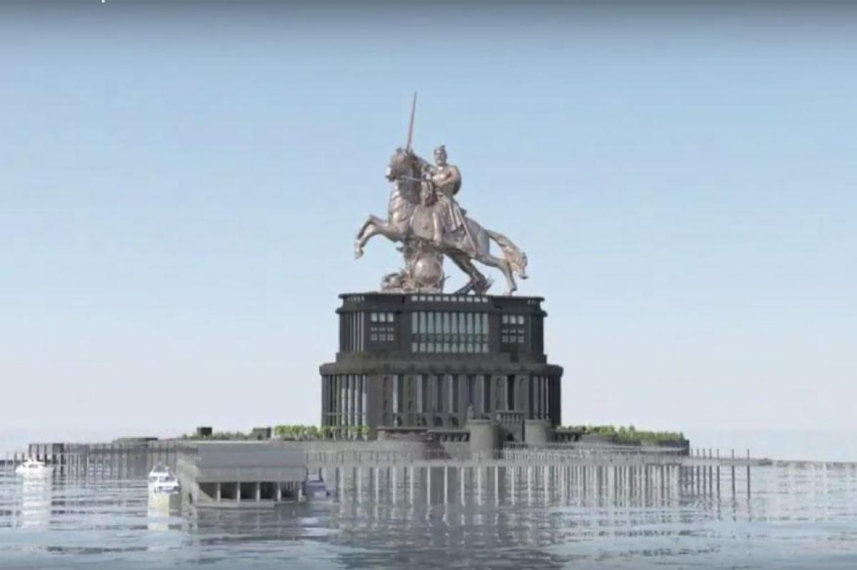 Maharashtra Government Wants To Increase Height Of Shivaji Memorial