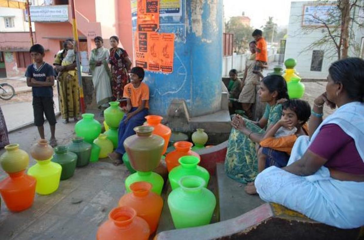 No water supply