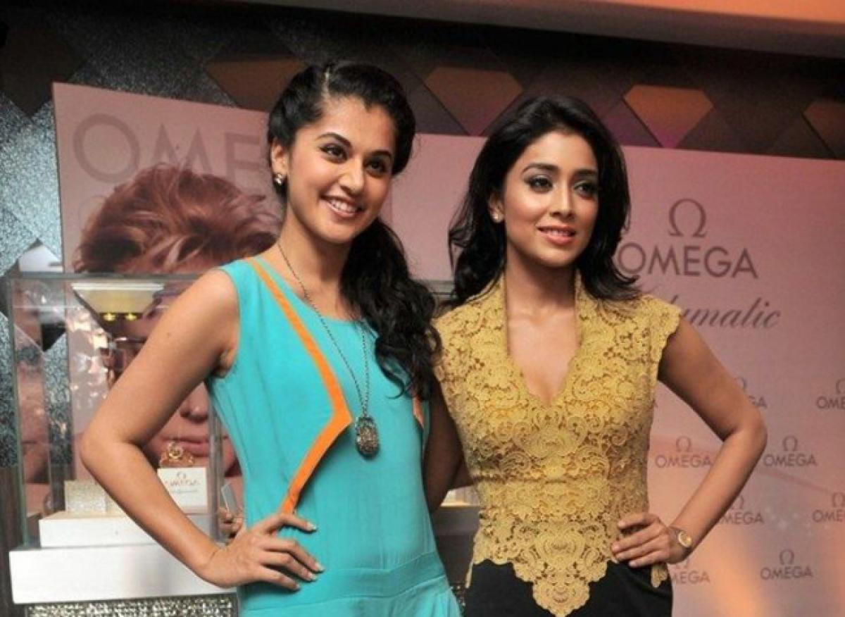 Shriya, Tapsee roped in for Prakash Raj