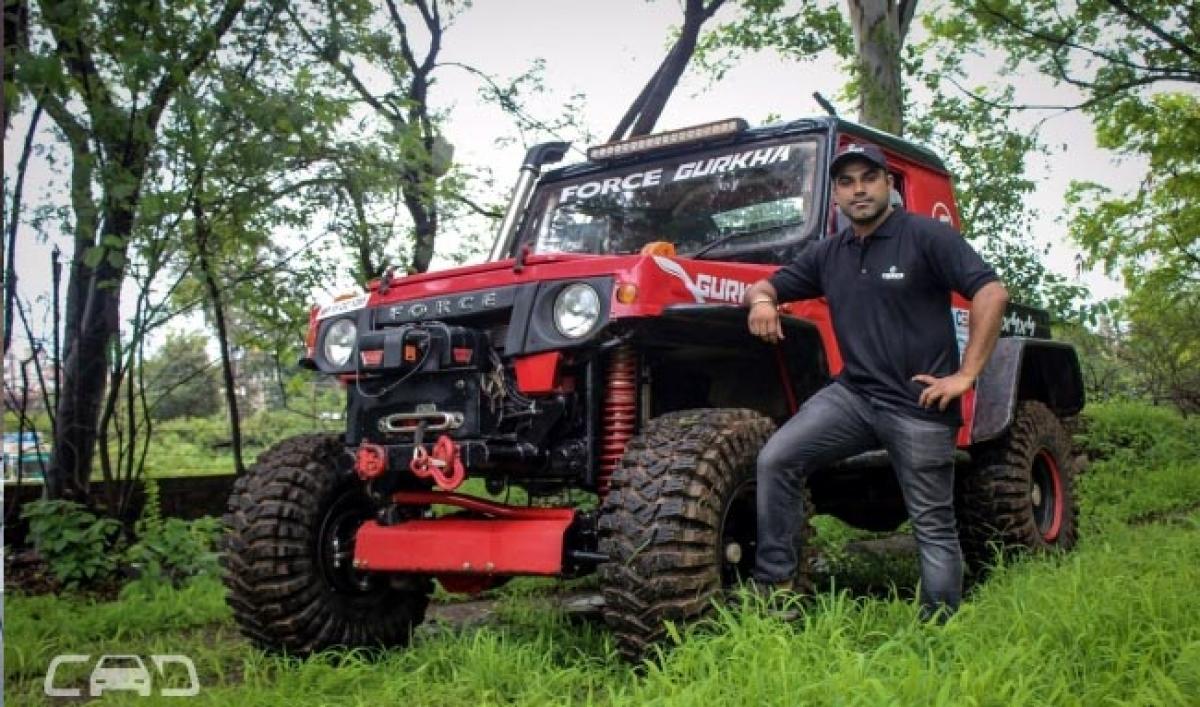 Seasoned Off-Roader Waraich Signs Up With Team Force Gurkha