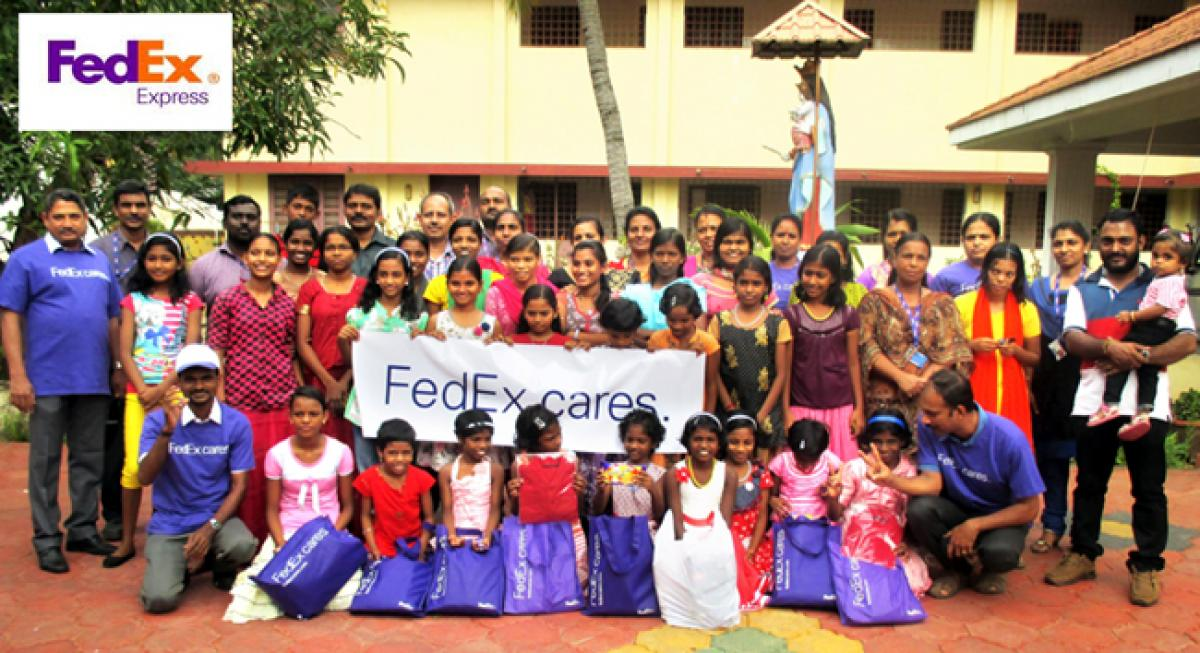 FedEx Cares Campaign Celebrated Across 34 Cities in India